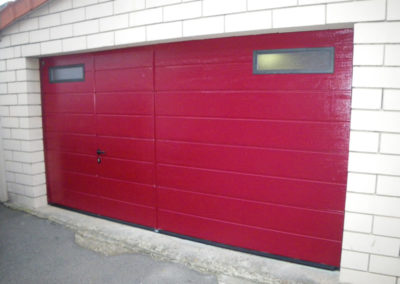 """porte sectionnelle avec portillon int""""gré"""