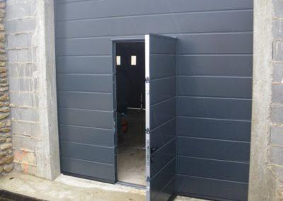 porte sectionnelle portillon