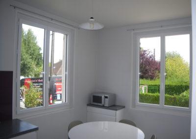 Fenêtre alu blanc 9016