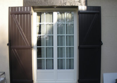 porte fenêtre alu avec petits bois