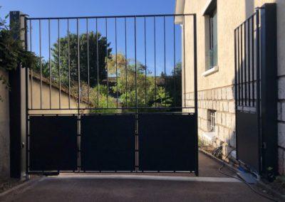 motorisation d'un portail existant