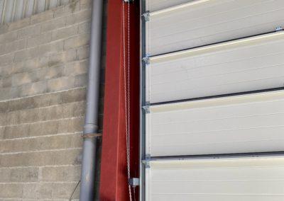 Porte sectionnelle industrielle HORMANN motorisée