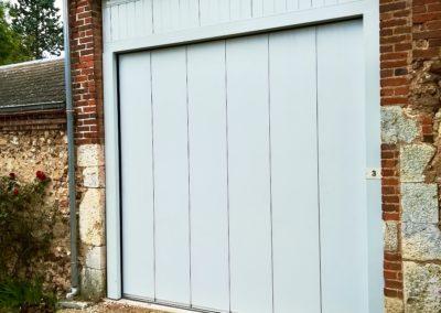 porte de garage hormann latérale